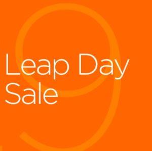 Happy Leap Day....sales, sales sales